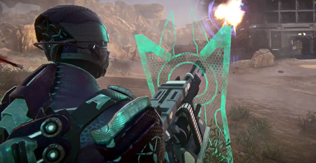 Escudo na arma de PlanetSide 2