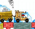 Desobstruindo o caminho do caminhão