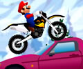 Motocross do Mario na neve